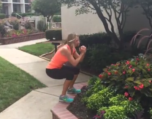 Missy Kent Outdoor Workout