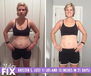 Kristen 21 Day Fix Success Story